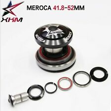 MEROCA 42/41.8-52mm Bicycle Tapered Headset For Montain Bike 30mm/40mm ID Tubes