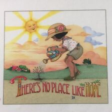 Mary Engelbreit Artwork-There Is No Place Like Hope-Handmade Magnet