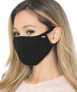 100% cotton 3 layered virus protector face MASK washable reusable breathable