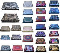 Large Collection Of Mandala Square Cushion Cover New Dog Bed Floor Pillow Cover