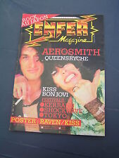 Enfer Magazine 19 1984 AEROSMITH MOHO DEEP PURPLE QUEENSRYCHE DIO ROCK JAPAN GEN