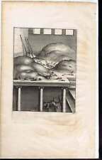 Old Weasel & the Mice Aesop's Fables 1668 Hollar Ogilby