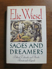 SIGNED  - SAGES AND DREAMERS by Elie Wiesel -  1991 - HCDJ 1st/1st - NEAR FINE
