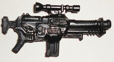 G I JOE Accessory  1993 Gung Ho, Duke, Clutch, Ozone, Stalker      Big Black Gun