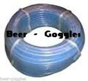 """30m Beer Pipe 3/8"""" Line Home Bar Tap Cooler Ale Pump 30mtr CLEAR, BLACK, GREY"""