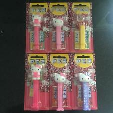 6 X Hello Kitty PEZ Dispenser 17g - Limited Edition Collectibles