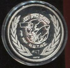 .999 Silver 1oz Rounds | Territory of WA | 2011 Space Odyssey LE #47 (STG 9)