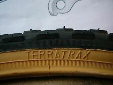 Terratrax 24 x 1.75 (47-507) Tyre Black with Amber Wall, MTB, ATB