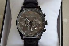 All Original Huge Emporio Armani Mans Chronograph Ss 50m Diver Watch