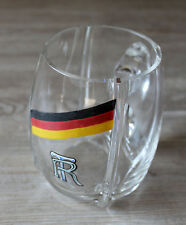 Old Glass Jar, Beer Mug Um 1930 Probably Turner, Sport