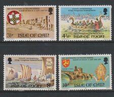 Île de Man - 1974, Historique Anniversaires Ensemble - MNH - Sg 50/3