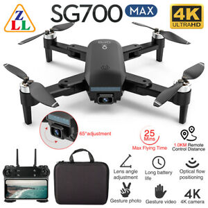 ZLL SG700 MAX FPV GPS with 5G WIFI 4K HD Dual Camera Brushless RC Drone RTF