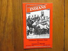 1987 S E Missouri State Men's Basketball Program(14 Sign/RON SHUMATE/CLEO CONLEY