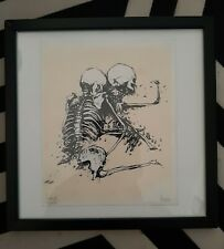 DRAN Sérigraphie Skeleton Couple