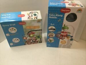 Tiny Love Meadow Days - Sunny Stroll & Take-Along Mobile Set - Open Box