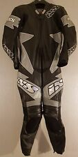 *IXS SX Supermotard *One Piece *Leather Motorcycle Race Suit *EU 50 UK 40 *VGC