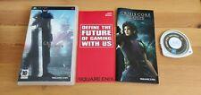PSP Final Fantasy 7 Crisis Core buenas condiciones tiene manual