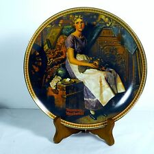 """Vintage Knowles Collector Plate Norman Rockwell """"Dreaming In The Attic"""""""