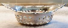 Gorham Sterling Silver Reticulated Candy Nut Dish