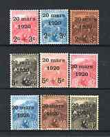 "MONACO YVERT 34 - 42 "" WEDDING PRINCESS CHARLOTTE 1920 9 STAMPS "" MNH VVF R102"