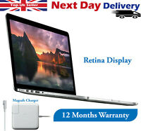 """Apple MacBook Pro 15.4"""" Retina Display intel i7 2.3GHz 8GB RAM 256GB SSD L-2012"""
