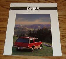 Original 1994 Ford Explorer Sales Brochure 94 XL XLT Sport Eddie Bauer Limited