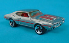 HOT WHEELS OLDS 442 W-30 in Metallic Silver from the 1995 '60s Muscle Cars pack