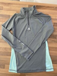 Ladies Adidas Long Sleeve Training Top Medium