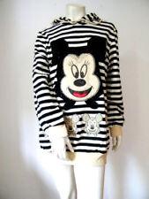 L Damen-Kapuzenpullover & -Sweats mit V-Ausschnitt aus Baumwollmischung