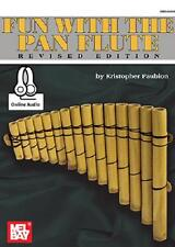 Fun With The Pan Flute Book New