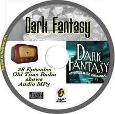 Dark Fantasy 28 OTR Old Time Radio Episodes Audio MP3 on CD