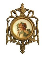 Antique Royal Vienna Porcelain Hand Painted Plate Signed Dresden