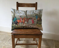 Horse & Hound Hunting Long Cushion Covers Pillow Cases Home Inner