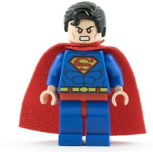 Genuine Lego DC Super Heroes SUPERMAN Original Minifigure 76028 Super Man SH003a