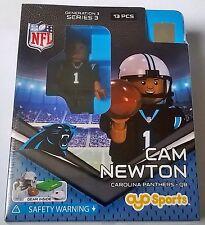 Cam Newton Camiseta Carolina Panthers Nº NFL Oyo ladrillo Juguete Figura De Acción