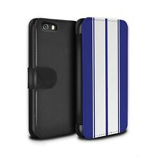 STUFF4 PU Leather Case/Cover/Wallet for Apple iPhone 5/5S/Racing Car Stripes