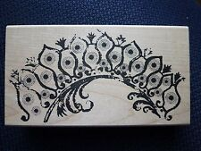 Stampers Anonymous Tim Holtz Rubber Stamp, Dotted Plume, U3-1190