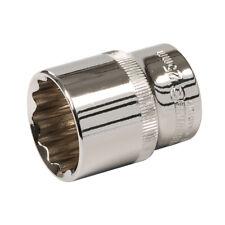 """PRO 12 mm Socket Driver –12 point 1//4 /""""à cliquet clé Bit Acier Carré Outil"""