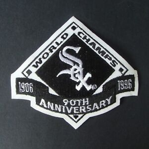 CHICAGO WHITE SOX 90TH  ANNIVERSITY PATCH