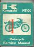 Kawasaki KE100 (72-78) Factory Service Repair Manual KE 100 G5 G5A G5B G5C BX90