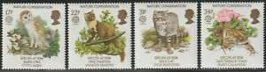 1986 Great Britain SC# 1141-1144 - Nature Conservation (Europa) - M-NH -1