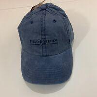Field & Stream Baseball Hat Cap Blue Adjustable Strap Authentic NEW NWT hunt