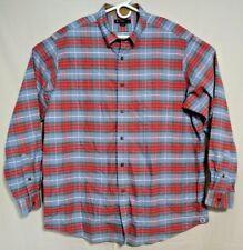 Daniel Cremieux Classics Club 38 Mens Long Sleeve Button Down Plaid Shirt XL