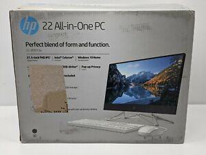 "HP 22-DF0013W 21.5"" (256GB SSD, Intel Celeron G5900T, 3.20GHz, 4GB RAM) -NR5709"