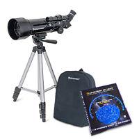 Celestron 21035 70mm Travel Scope w/ 165x Maximum Magnification & Skymaps
