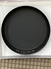 B+W 72mm KSM  C-POL MRC filter F-Pro