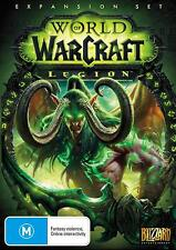 World Of Warcraft WOW Legion Game Expansion Addon Pack Level 100 Boost PC Rare