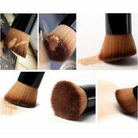Pinceau Cosmétique Brosse Bois Poudre Fond de Teint Blush Joues Maquillage Outil
