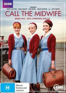 Call The Midwife : Series 5 (DVD, 2016, 3-Disc Set)