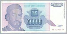Banknote Jugoslawien / Yugoslavia - 50000 Dinar - 1993